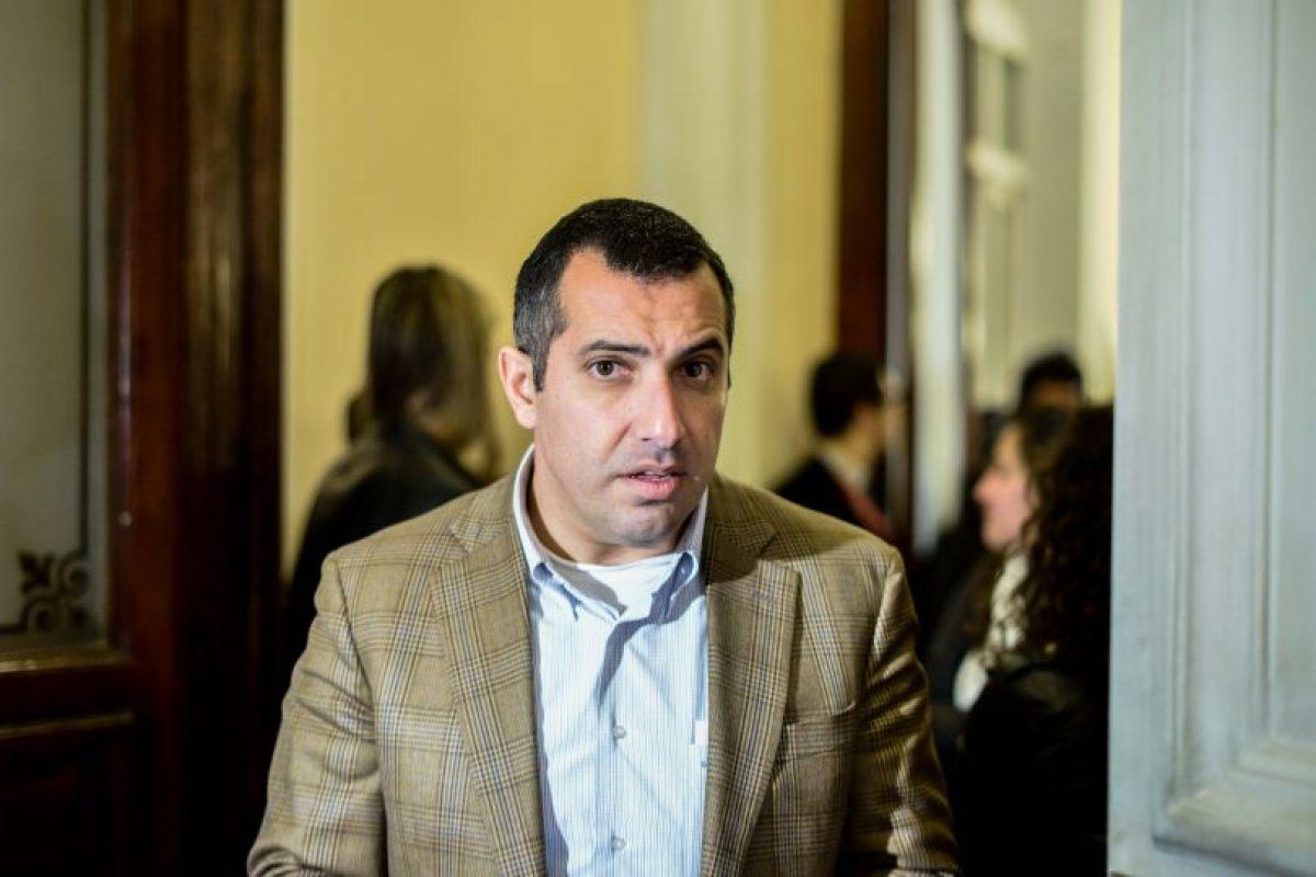 Diputados Gustavo Hasbún (UDI). Foto:Agencia UNO. Imagen Por: