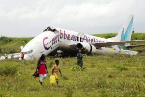 Este avión salió JFK para el Caribe y se estrelló. Nadie murió. Foto:Reproducción. Imagen Por: