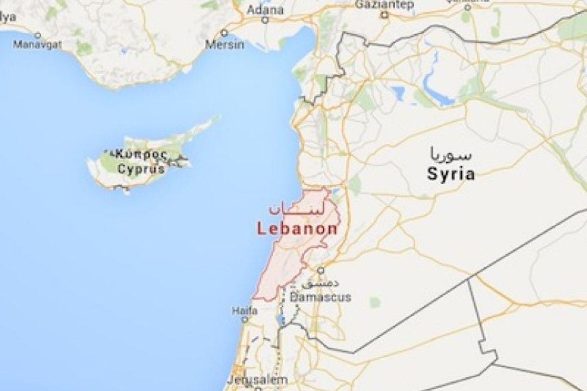4. Líbano Foto:Google Maps. Imagen Por:
