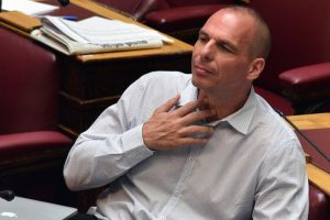 Yanis Varoufakis, exministro de Finanzas y uno de los principales opositores al Eurogrupo Foto:AFP. Imagen Por: