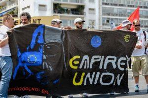 Imágenes de las manifestaciones Foto:AFP. Imagen Por: