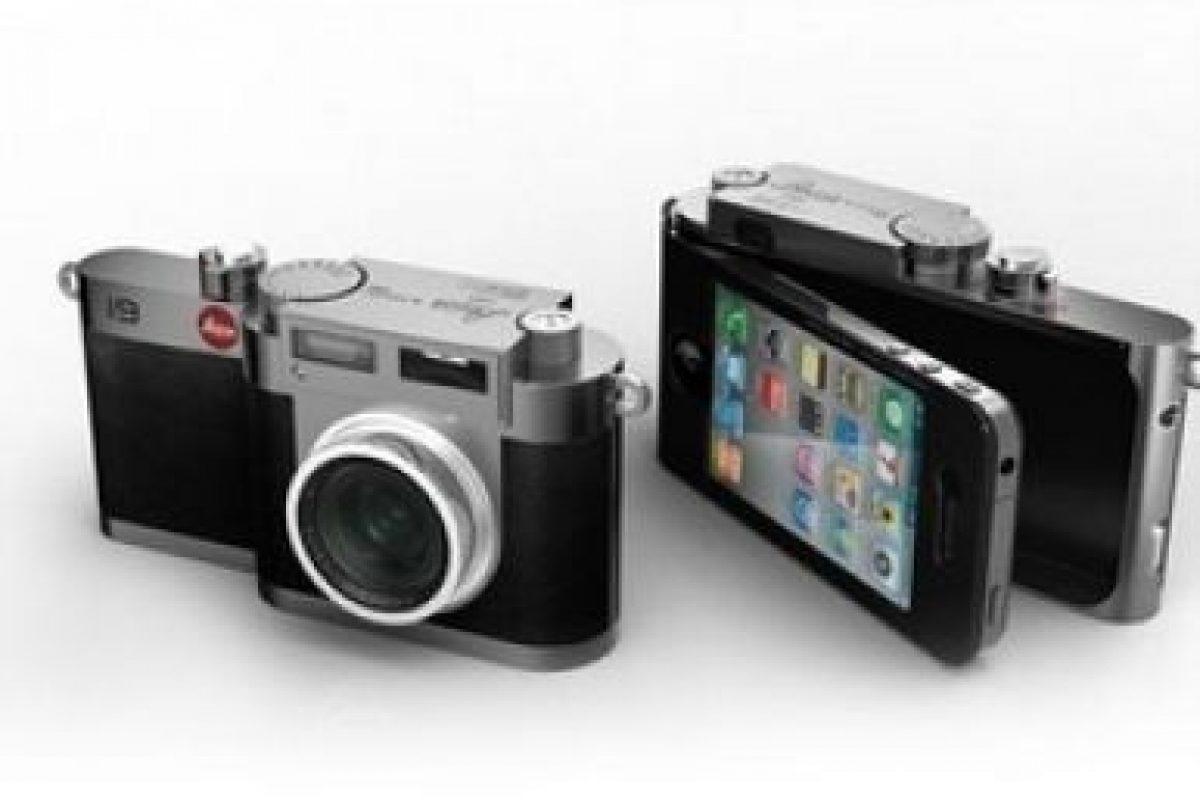 Una cámara fotográfica. Foto:Pinterest. Imagen Por: