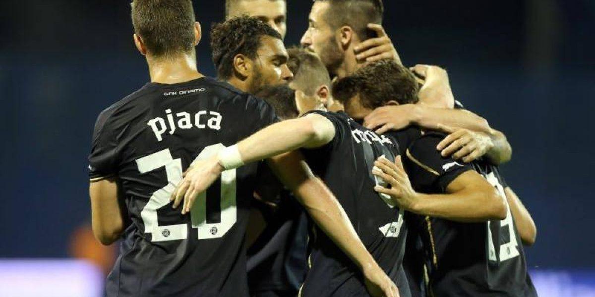 Champions: Ángelo marcó en empate del Dinamo ante desconocido rival de Luxemburgo