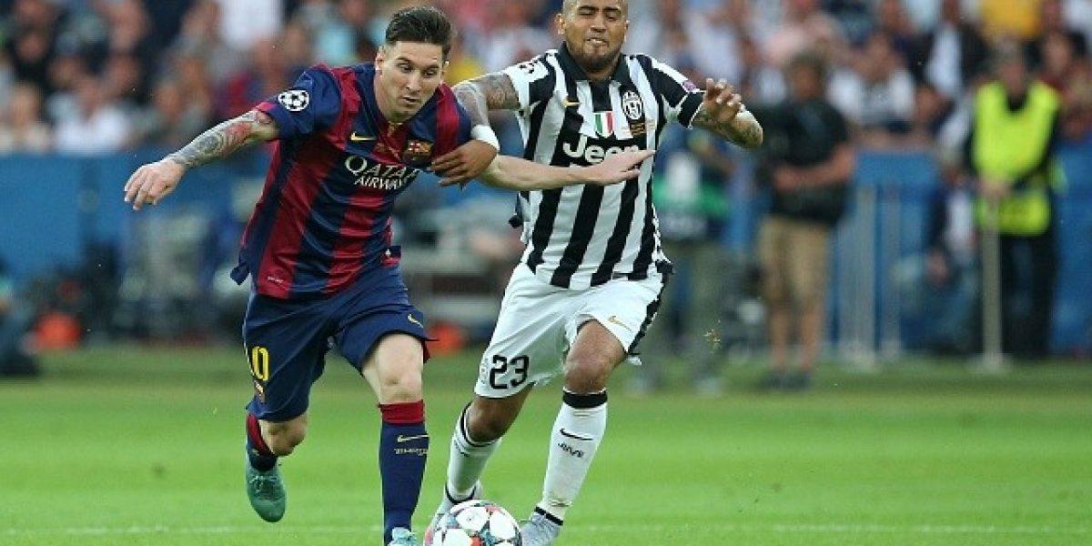 Arturo Vidal es candidato a ser el mejor jugador de Europa