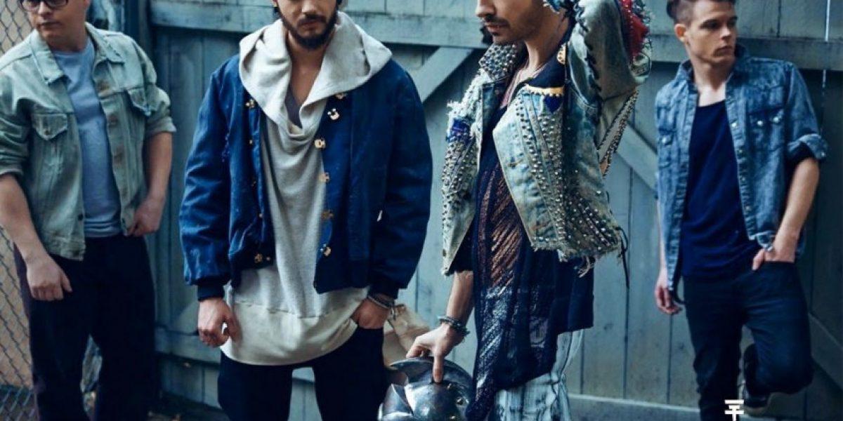 Tokio Hotel le tira flores al público chileno
