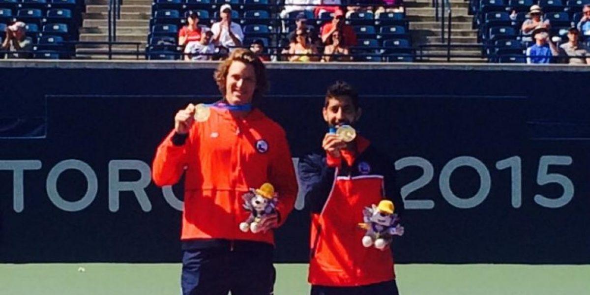 El tenis dio la cuarta medalla de oro a Chile superando lo de Guadalajara
