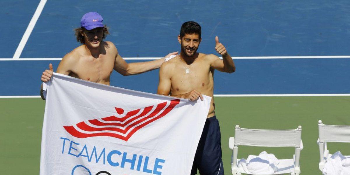 Podlipnik y Jarry le dieron el cuarto oro a Chile en Toronto