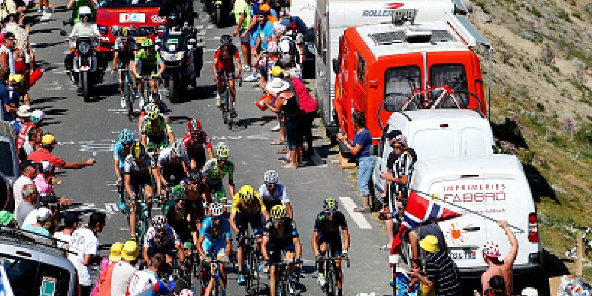 Tour de Francia: Chris Froome no titubea y conserva intacta su ventaja de líder