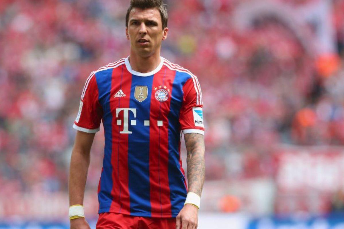 En 2014, fue el croata Mario Mandzukic (9) quien salió del equipo. Foto:Getty Images. Imagen Por: