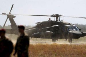 Las imágenes fueron tomadas por otro helicóptero que lo sobrevolaba. Foto:AP. Imagen Por: