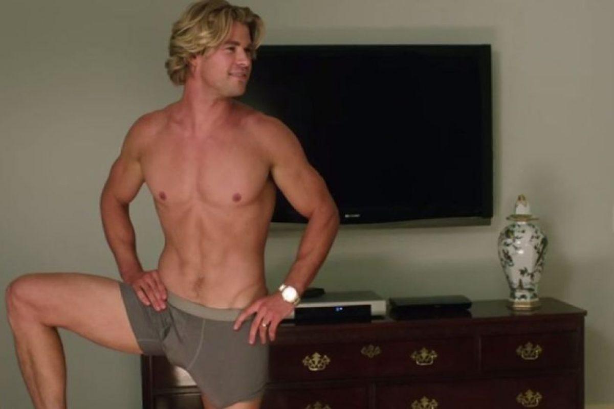 """Chris Hemsworth en la película """"Vacation"""" Foto:Vía Youtube. Imagen Por:"""