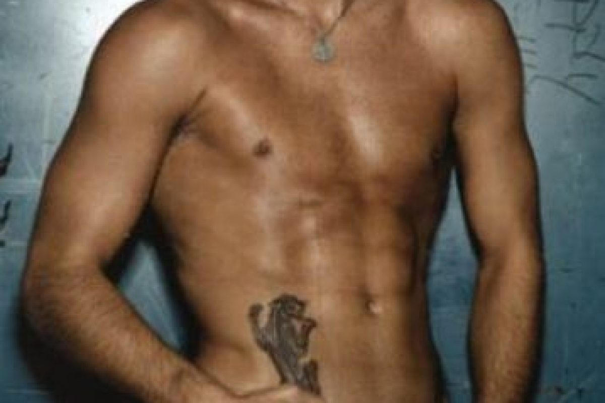 Fredrik Ljungberg, ex futbolista sueco. Foto:Calvin Klein. Imagen Por: