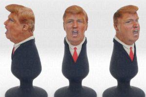 Candidato a la presidencia de Estados Unidos, Donald Trump Foto:Vía Twitter: @politicalsculpt. Imagen Por: