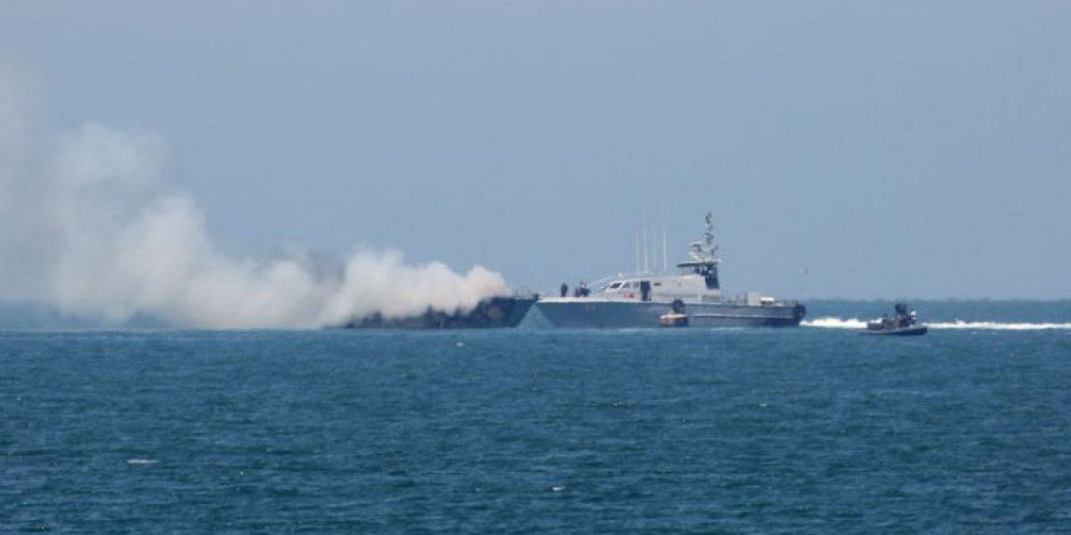 Militantes de ISIS atentan contra barco del Ejército egipcio