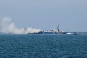El ataque se realizó justo en el mar Mediterráneo. Foto:AFP. Imagen Por: