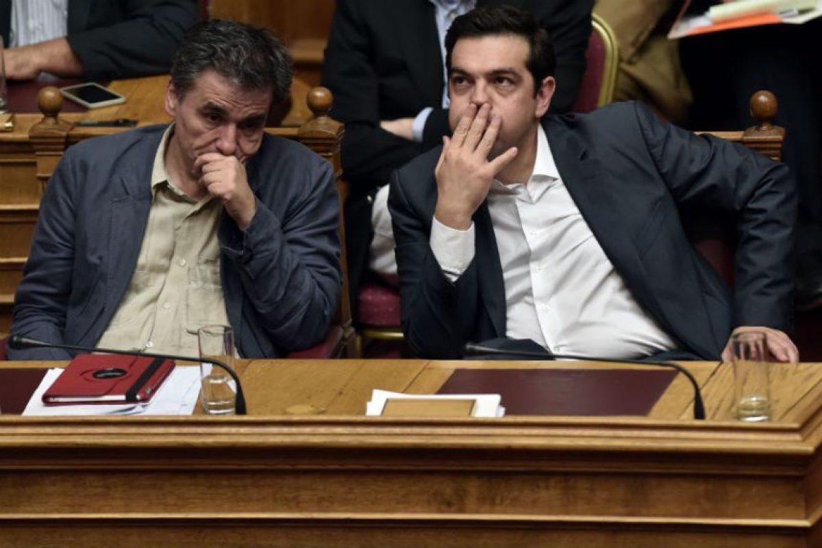 El cual según el primer ministro Alex Tsipras es muy duro. Foto:AFP. Imagen Por: