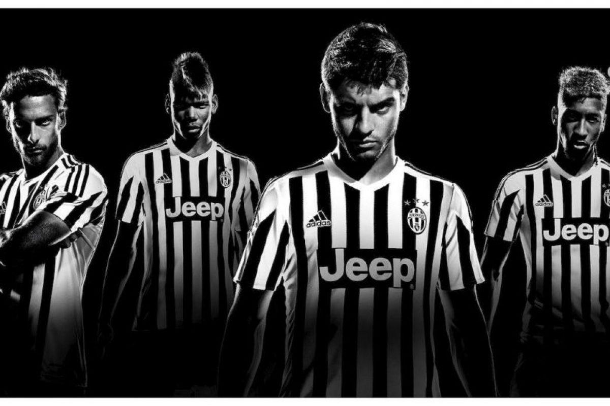 Juventus mantiene su tradicional diseño. Foto:juventus.com. Imagen Por: