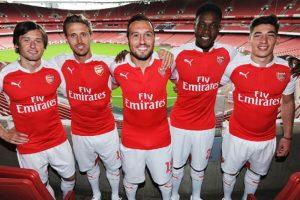 Esta es la nueva camiseta del Arsenal. Foto:Vía facebook.com/Arsenal. Imagen Por: