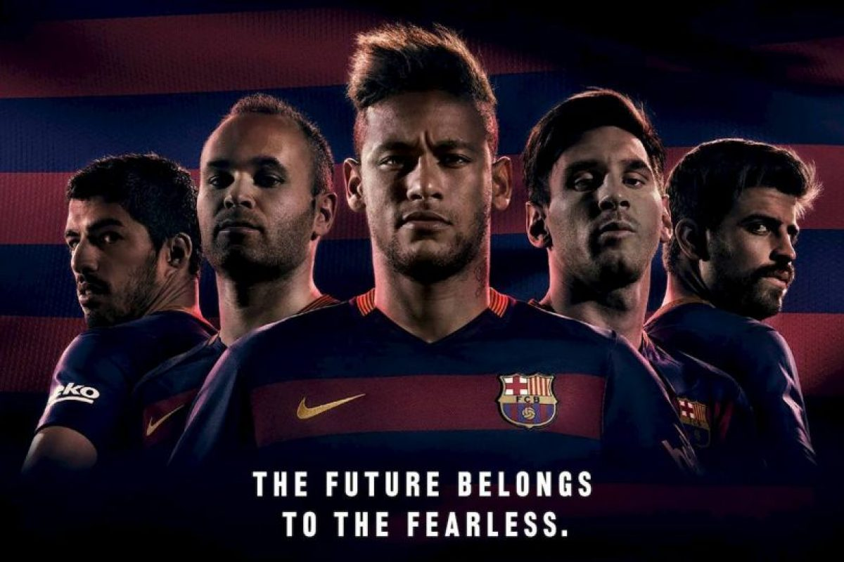 La nueva camiseta del Barcelona causó revuelo. Foto:fcbarcelona.com. Imagen Por: