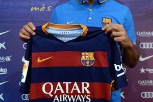 El español Aleix Vidal fue el primer jugador en usar este uniforme oficialmente. Foto:Getty Images. Imagen Por: