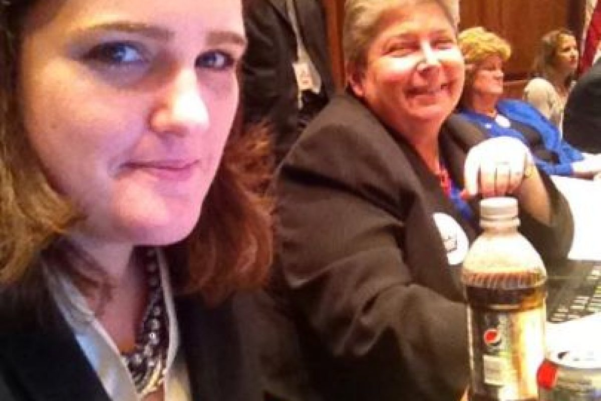 Trabaja como delegada en el Congreso local de Maryland Foto:Facebook.com/kellyfordelegate. Imagen Por: