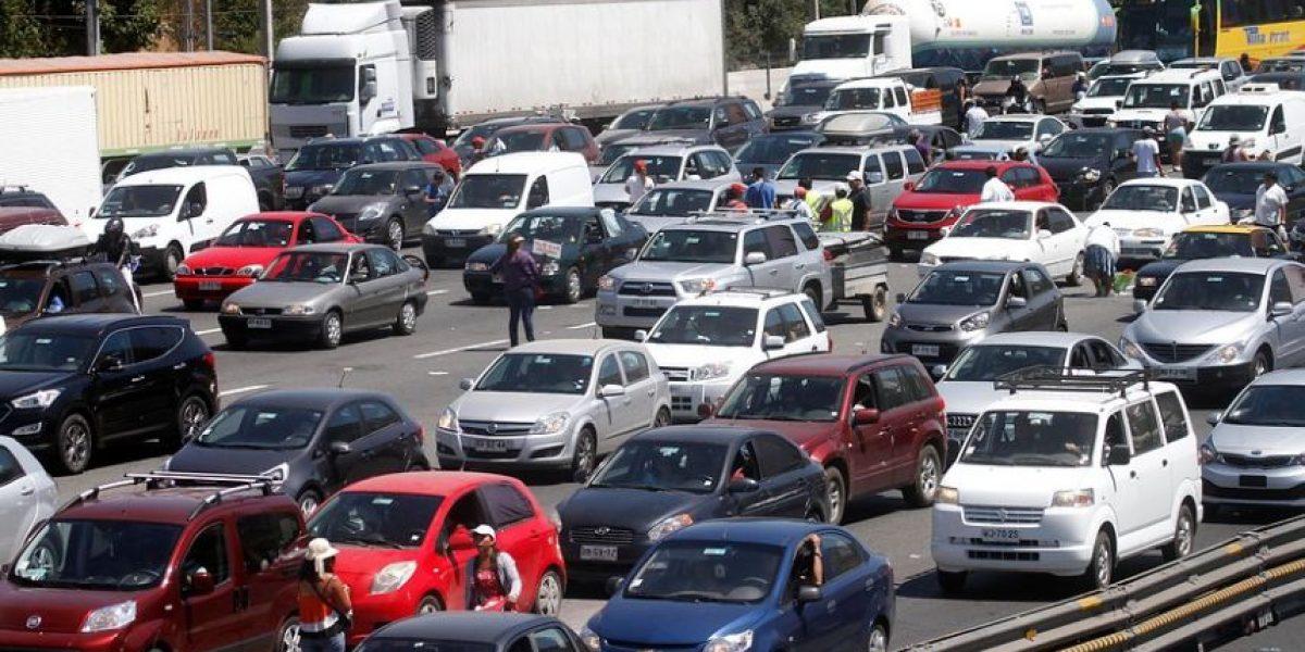 Santiaguinos saldrán en masa y este es el plan de contingencia vial
