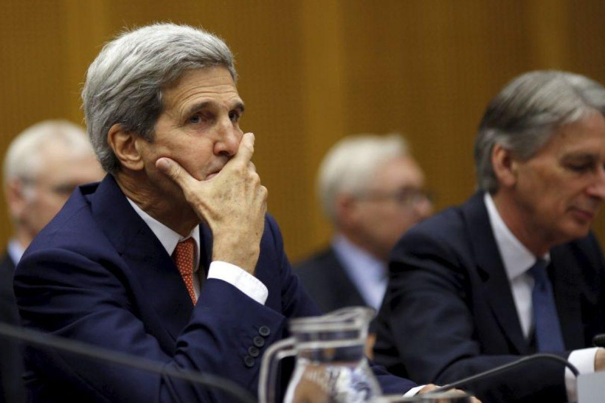 """""""Gracias a este acuerdo, la comunidad internacional podrá verificar que Irán no desarrolla un arma nuclear"""", agregó. Foto:AP. Imagen Por:"""