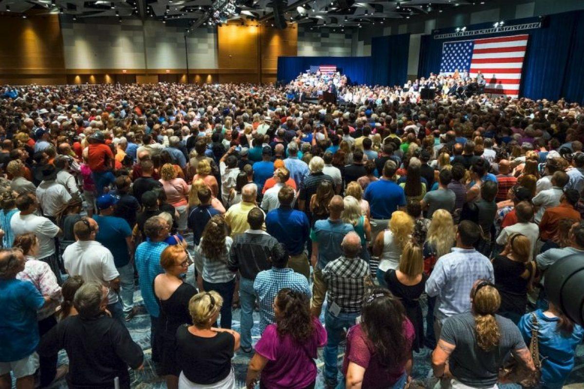 Solo en 2014, Trump declaró ingresos de 362 millones de dólares Foto:Getty Images. Imagen Por:
