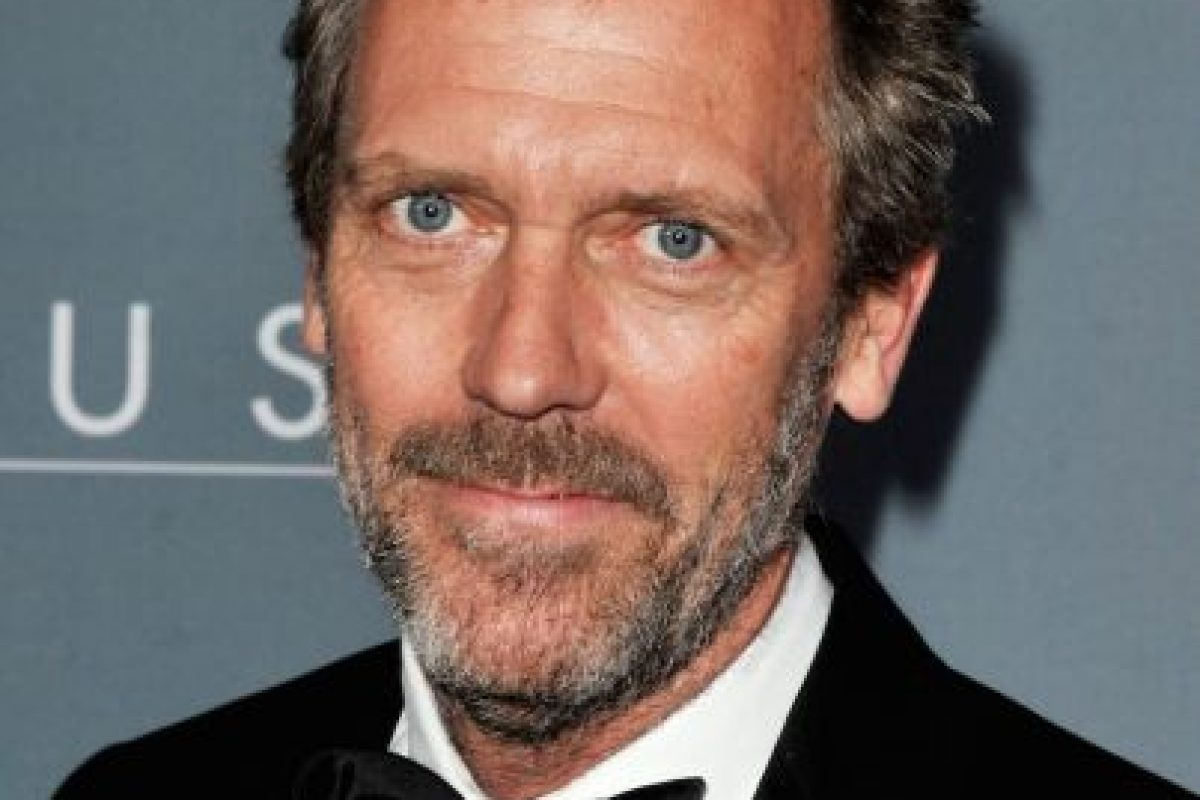 Así luce el original Hugh Laurie Foto:Getty Images. Imagen Por: