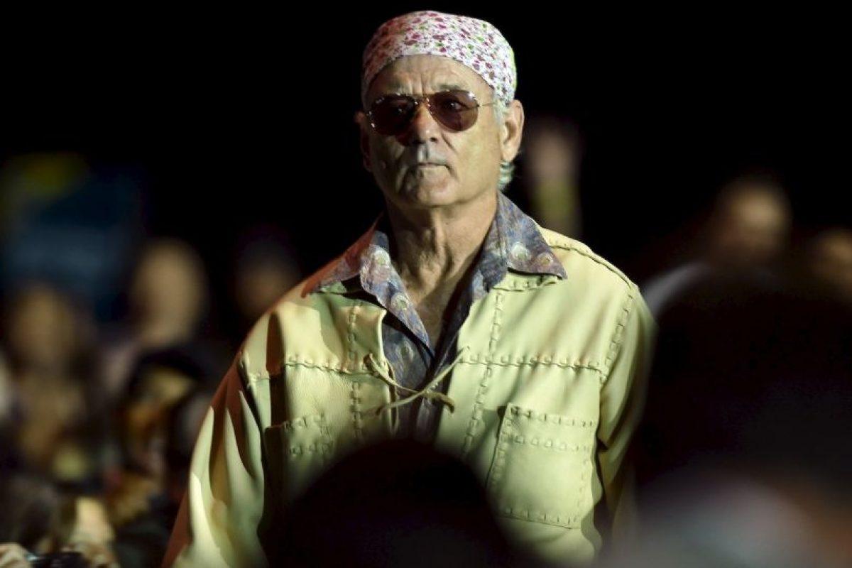 """Bueno, ella """"murió"""" pero Bill Murray jamás la conoció. Foto:Getty Images. Imagen Por:"""