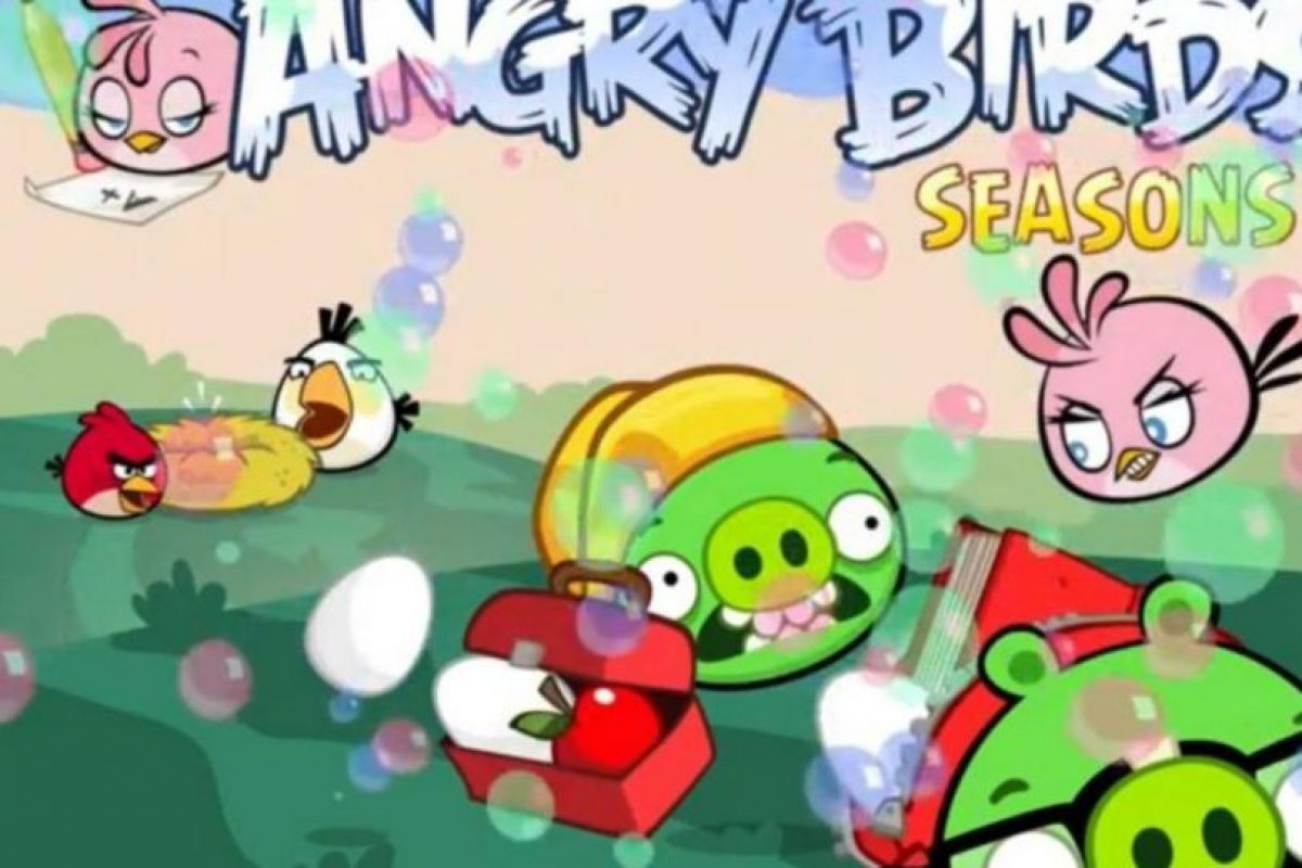 Angry Birds Seasons (2010). Foto:Rovio. Imagen Por: