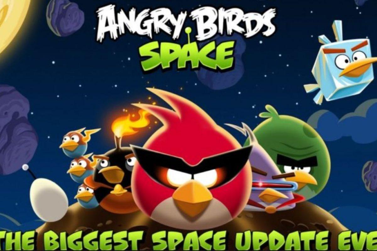 """Ambientado en el espacio, con """"Frosh"""" como nuevo personaje y más habilidades para los pájaros. Foto:Rovio. Imagen Por:"""