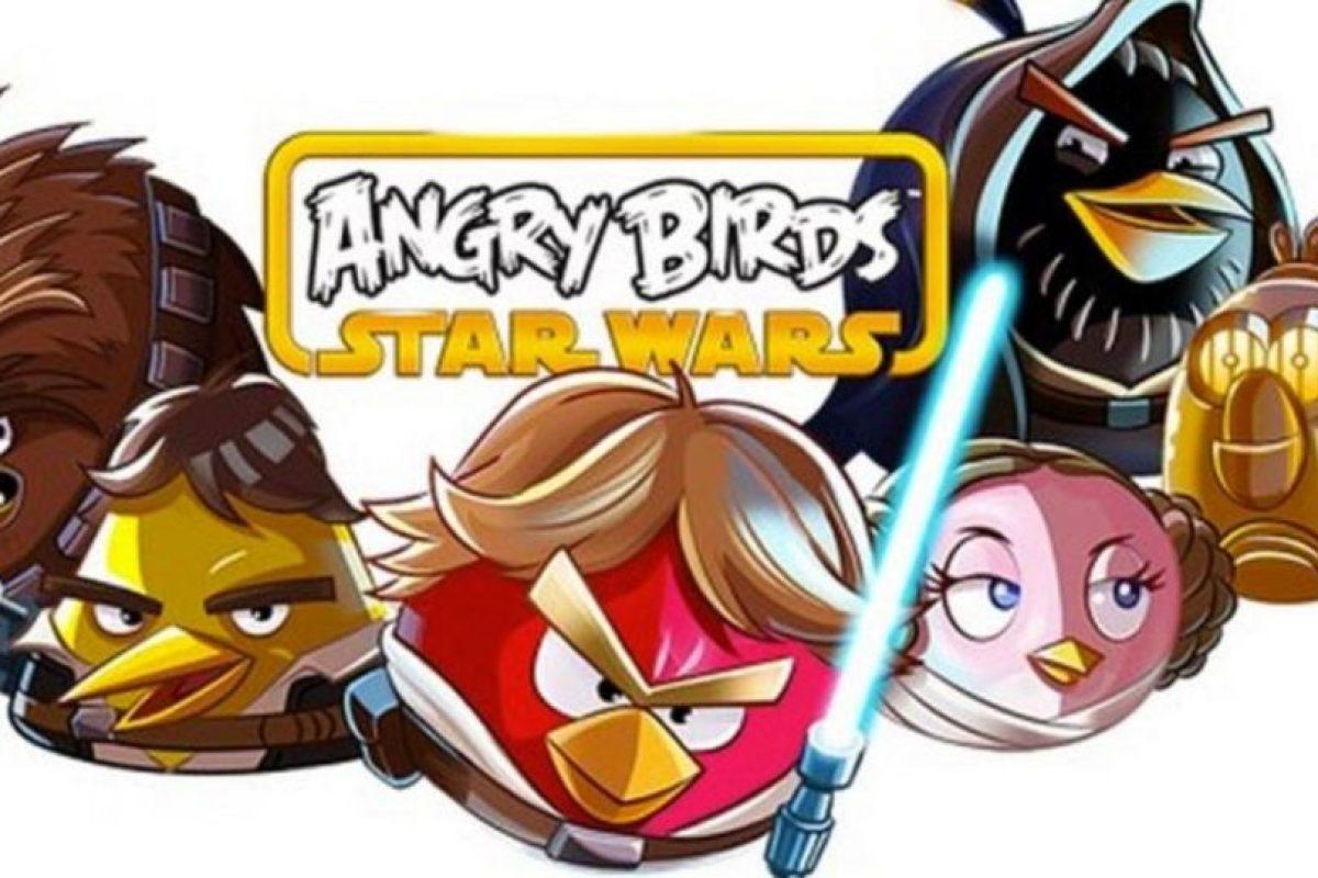 """Con personajes basados en la popular saga de películas """"Star Wars"""". Foto:Rovio. Imagen Por:"""