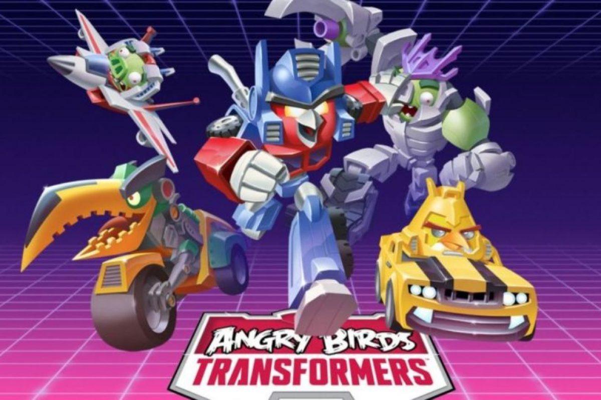 Angry Birds Transformers (2014). Foto:Rovio. Imagen Por: