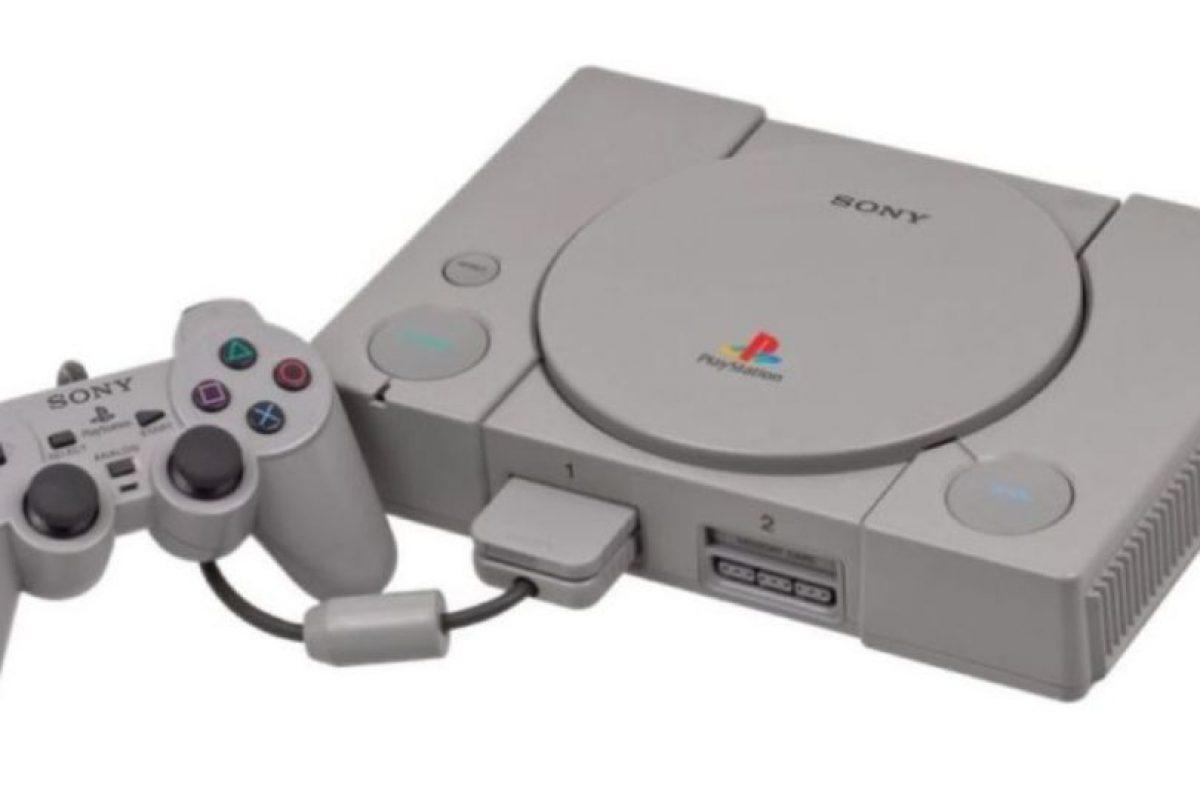 PlayStation (1994). Foto:Sony. Imagen Por: