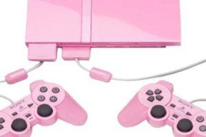 PlayStation 2 Slim color rosa. Foto:Sony. Imagen Por: