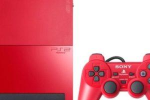 PlayStation 2 Slim color rojo. Foto:Sony. Imagen Por: