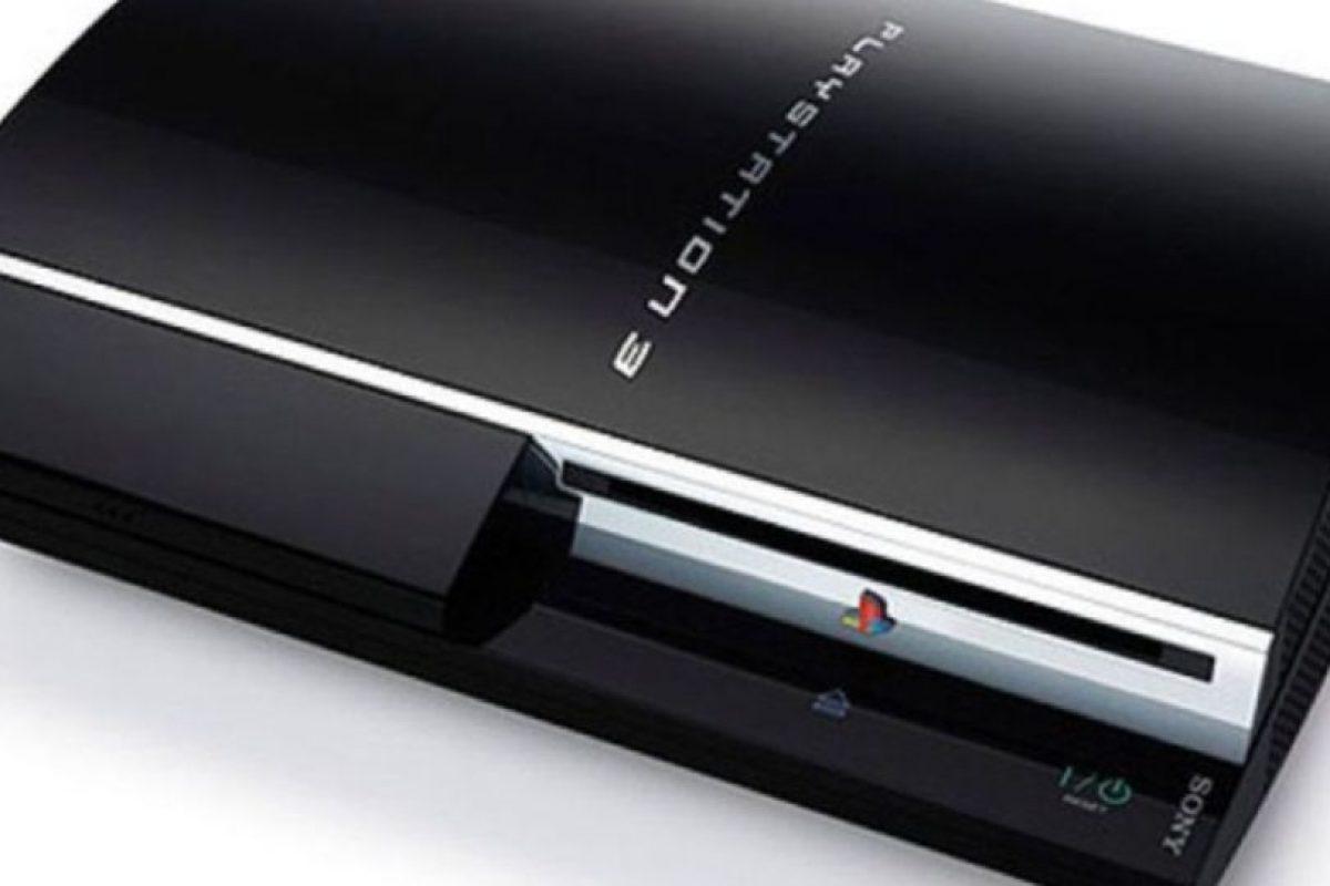 PlayStation 3 color negro. Foto:Sony. Imagen Por: