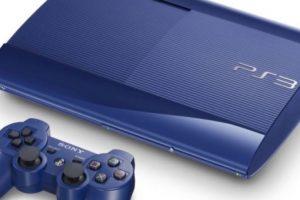 PlayStation 3 Slim color azul. Foto:Sony. Imagen Por:
