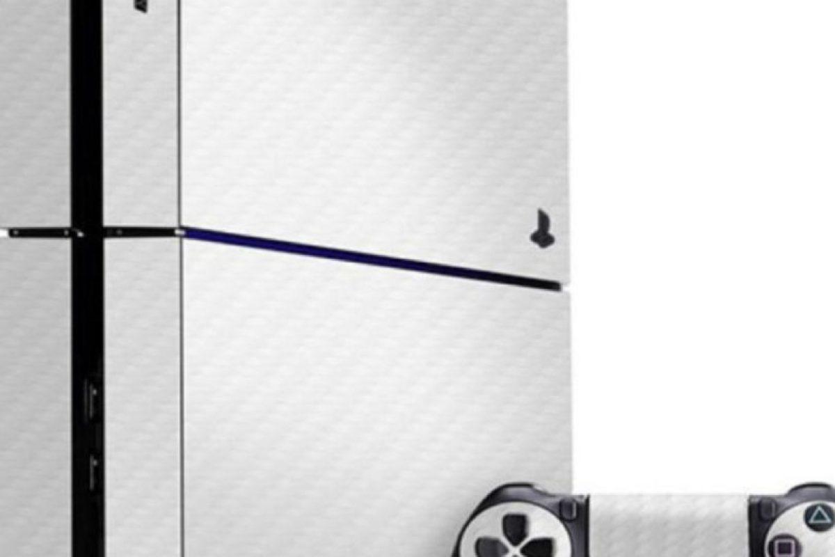 PlayStation 4 color blanco. Foto:Sony. Imagen Por: