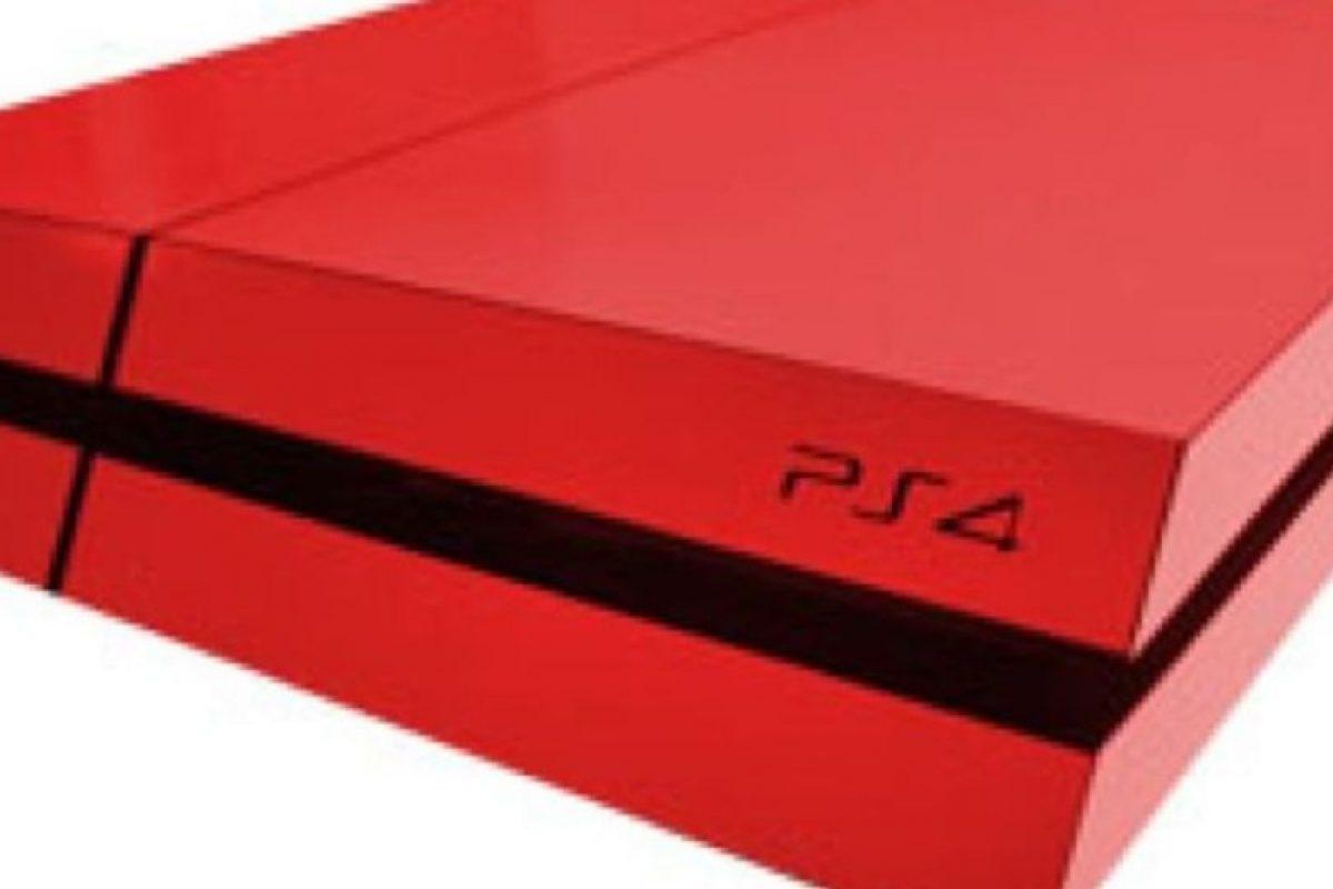 PlayStation 4 color rojo. Foto:Sony. Imagen Por:
