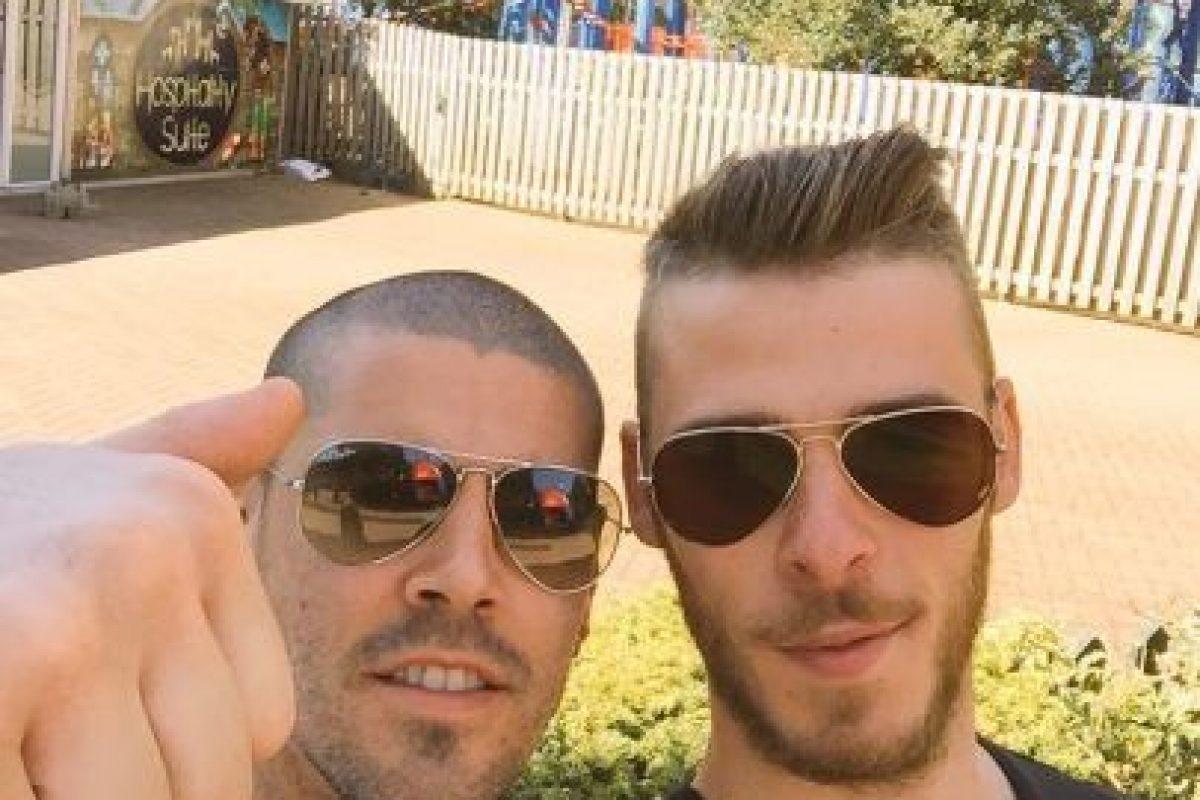 Durante la campaña pasada, Valdés fue suplente de David de Gea. Foto:Vía twitter.com/1victorvaldes. Imagen Por: