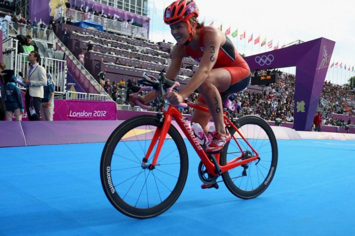 Ganó bronce para Bermuda en triatlón femenino Foto:Getty Images. Imagen Por: