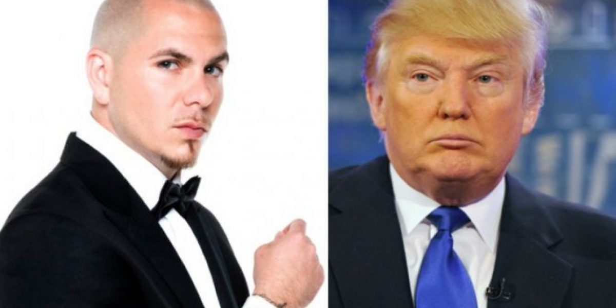 VIDEO: Pitbull arremete contra Donald Trump