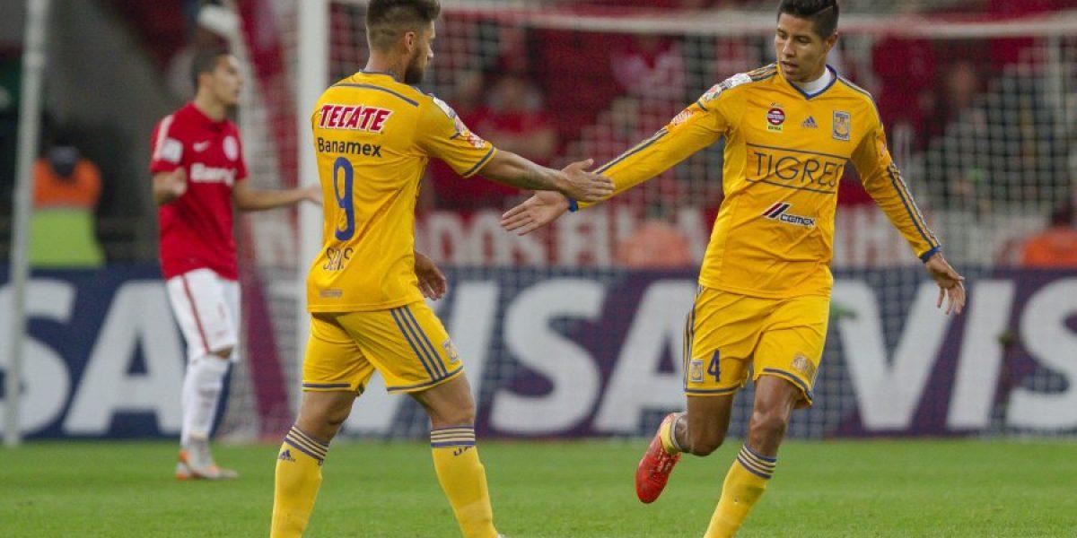 El Inter de Aránguiz sacó una leve ventaja sobre el Tigres de Gignac en la Libertadores