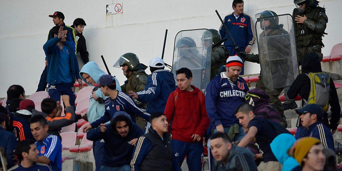 Copa Chile: Las dramáticas imágenes de los serios incidentes en Talca