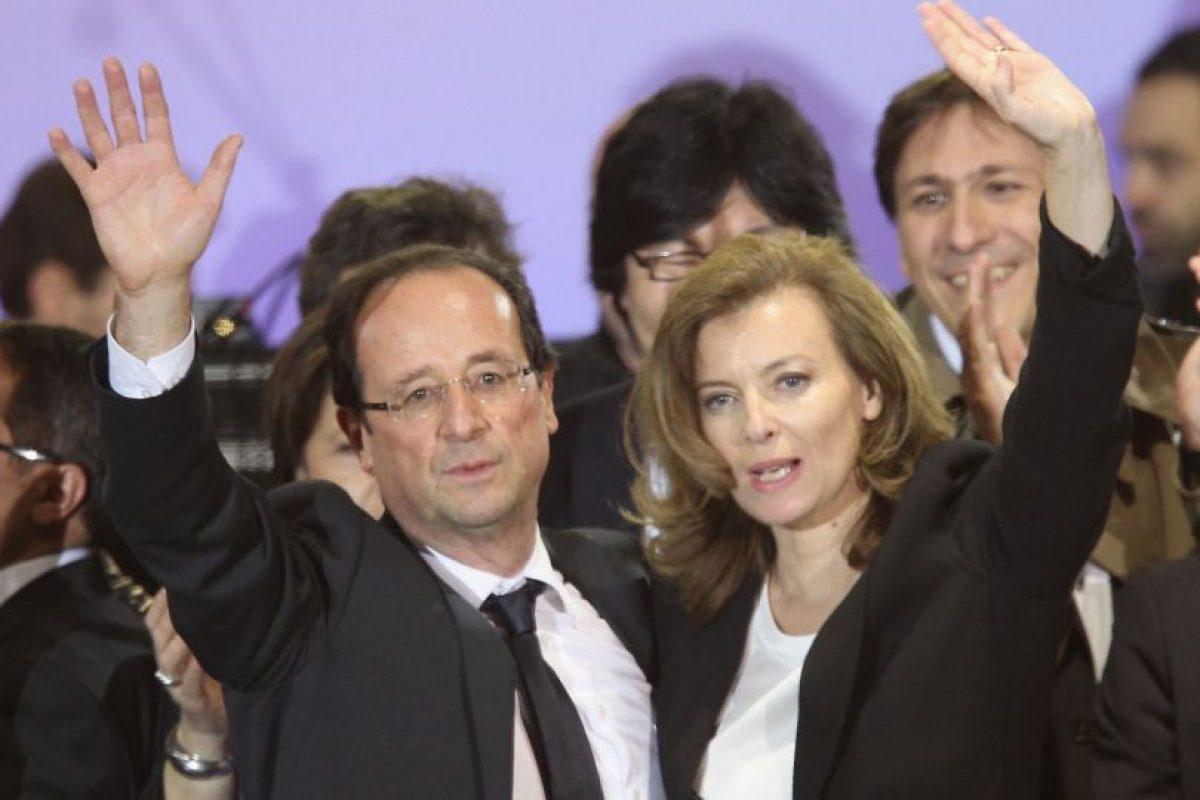 Se separaron en 2014 por una aparente infidelidad del presidente. Foto:Getty Images. Imagen Por: