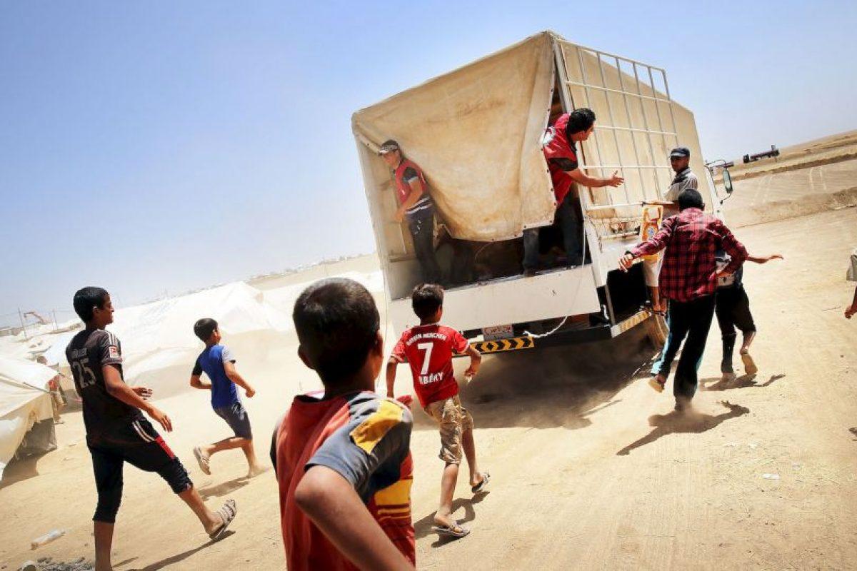 7. Se estima que el grupo terrorista recauda 730 millones de dólares al año, reseñó Bloomberg. Foto:Getty Images. Imagen Por: