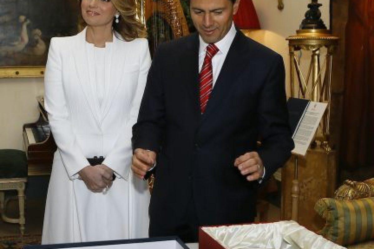 Se casaron en una catedral del estado de Toluca, México. Foto:Getty Images. Imagen Por: