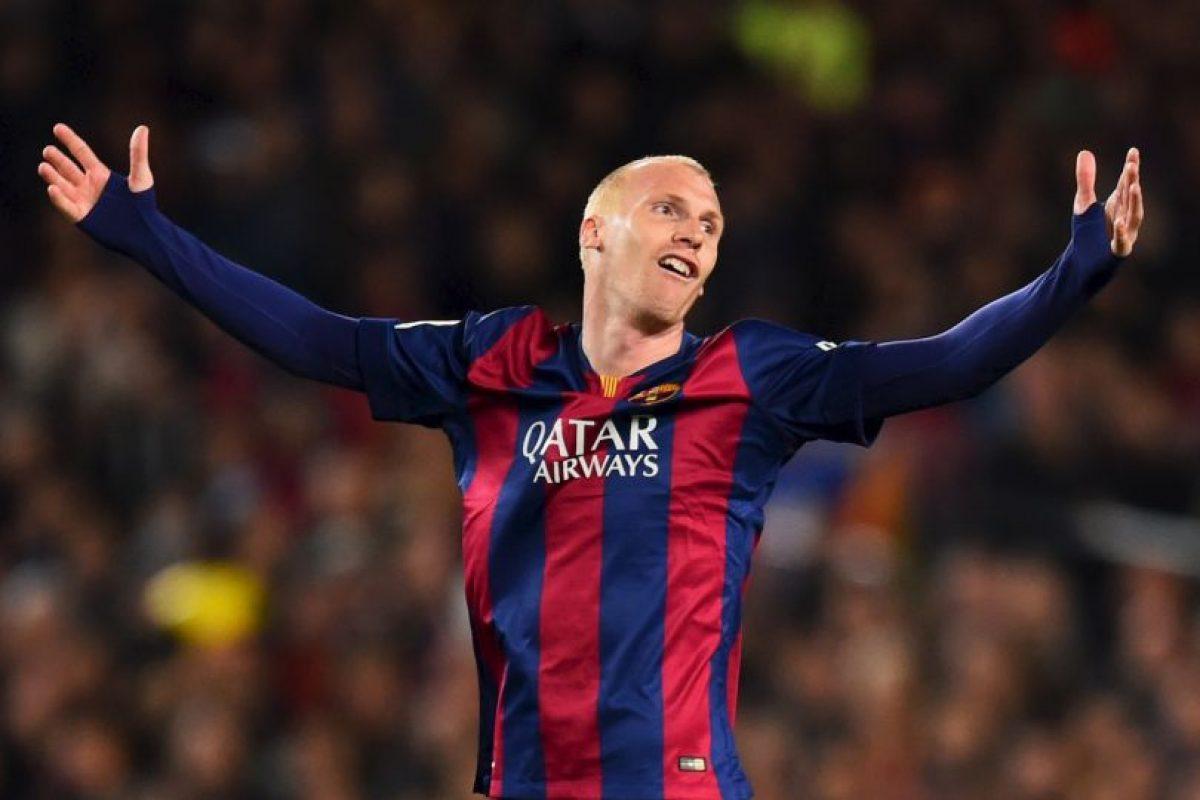 Llegó al Barcelona en la temporada 2014-2015, pero fue muy criticado por su edad: 31 años al momento del fichaje. Foto:Getty Images. Imagen Por: